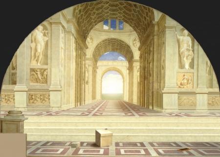 """""""La escuela de Atenas"""" de Rafael Sanzio"""