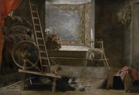 """""""Las hilanderas"""" de Velázquez"""