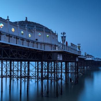 Blue hour in Brighton Pier