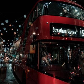 Lights in Oxford Street
