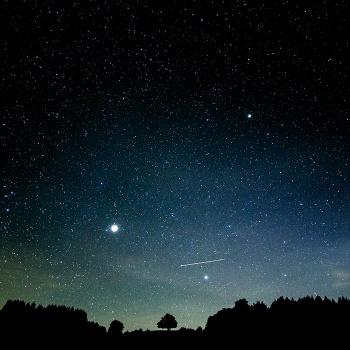 Magic at night
