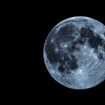 Super Moon portrait
