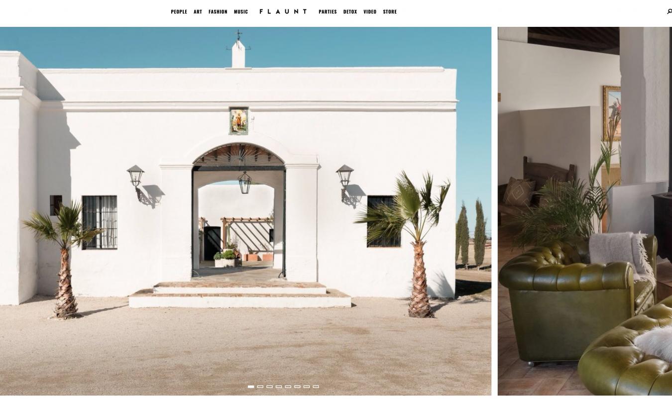 Flaunt Magazine, Hacienda Las Mesas | Dani Vottero, fotografía para hoteles - SCRAPBOOK - Scrapbook | Prensa y Publicaciones | Dani Vottero