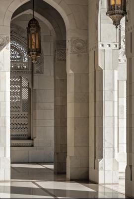 Moschea del Sultano Qaboos, Muscat | Dani Vottero, fotografo di architettura