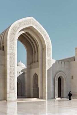 Dani Vottero, fotografia di architettura | Moschea del Sultano Qaboos, Oman