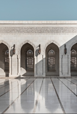 Fotografia di architettura, Dani Vottero | Moschea del Sultano Qaboos, Oman