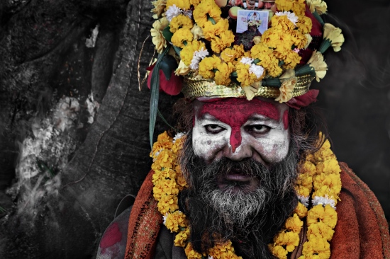 Sadhu en Pashupatinat (Katmandu, Nepal - 2015)