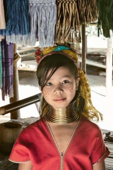 Karen Long Neck Girl, Thailand | Dani Vottero, travel photography