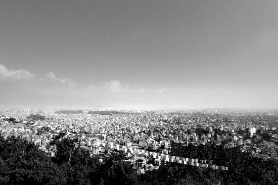Kathmandu from Swayambunath
