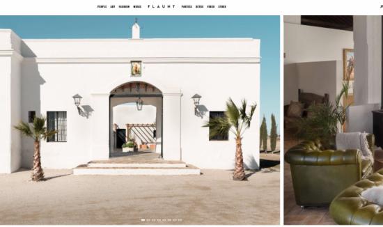 Flaunt Magazine, Hacienda Las Mesas