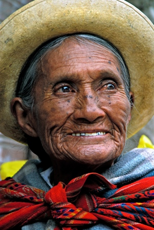 Mujer quechua