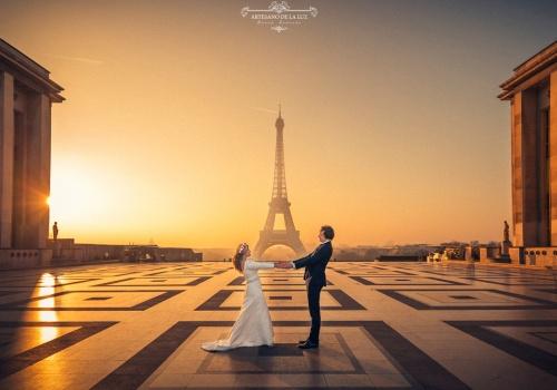 Artesano de la Luz - Postboda en Paris con la torre Eiffel