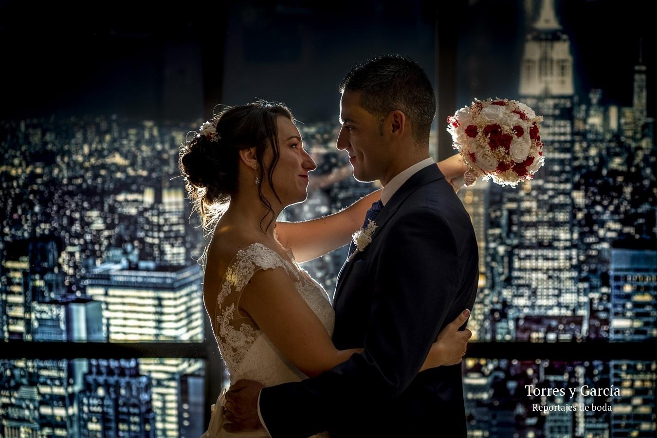 el skyline de Nueva York - Fotografías - Libros y reportajes de boda diferentes.