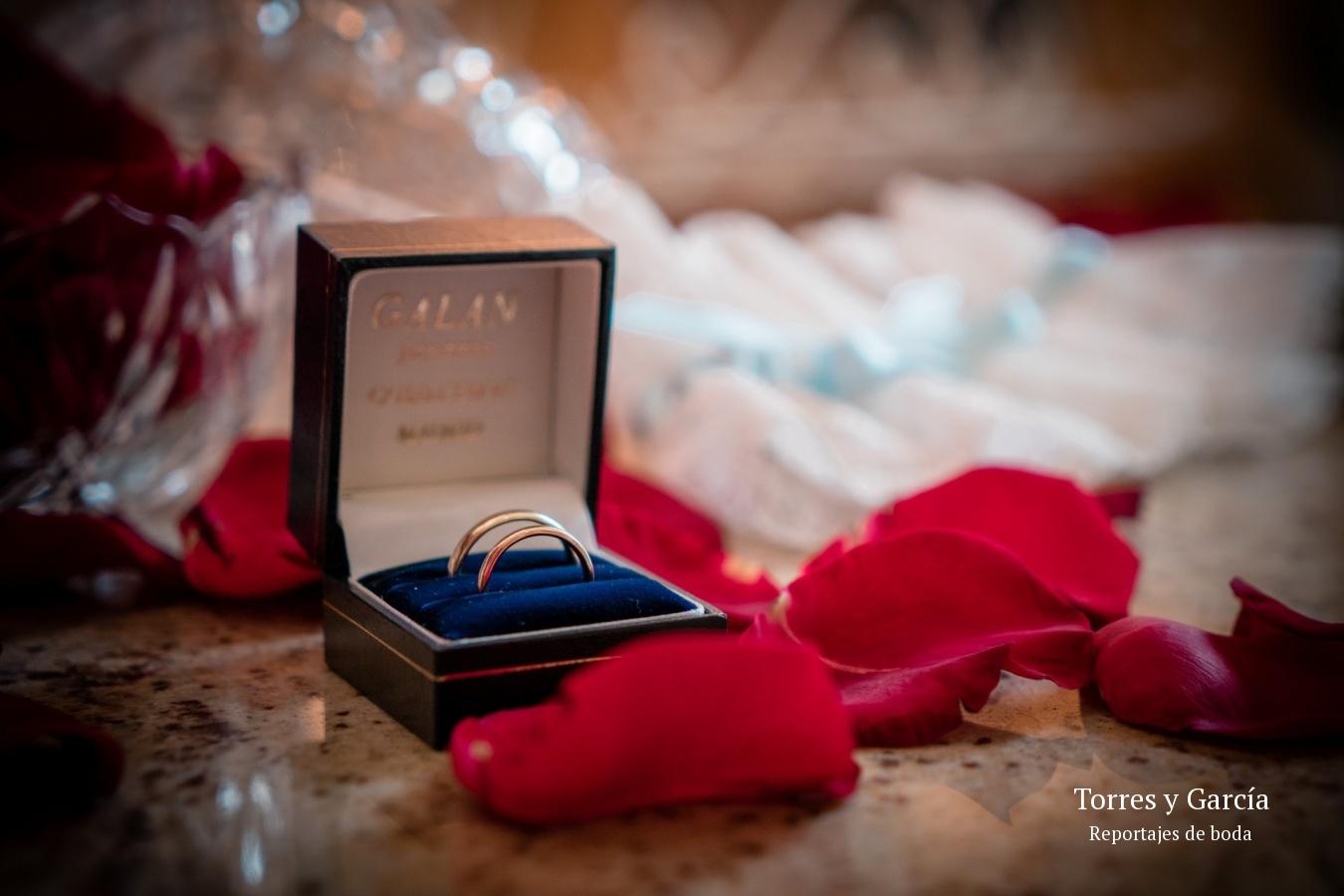 alianzas de boda - Fotografías - Libros y reportajes de boda diferentes.