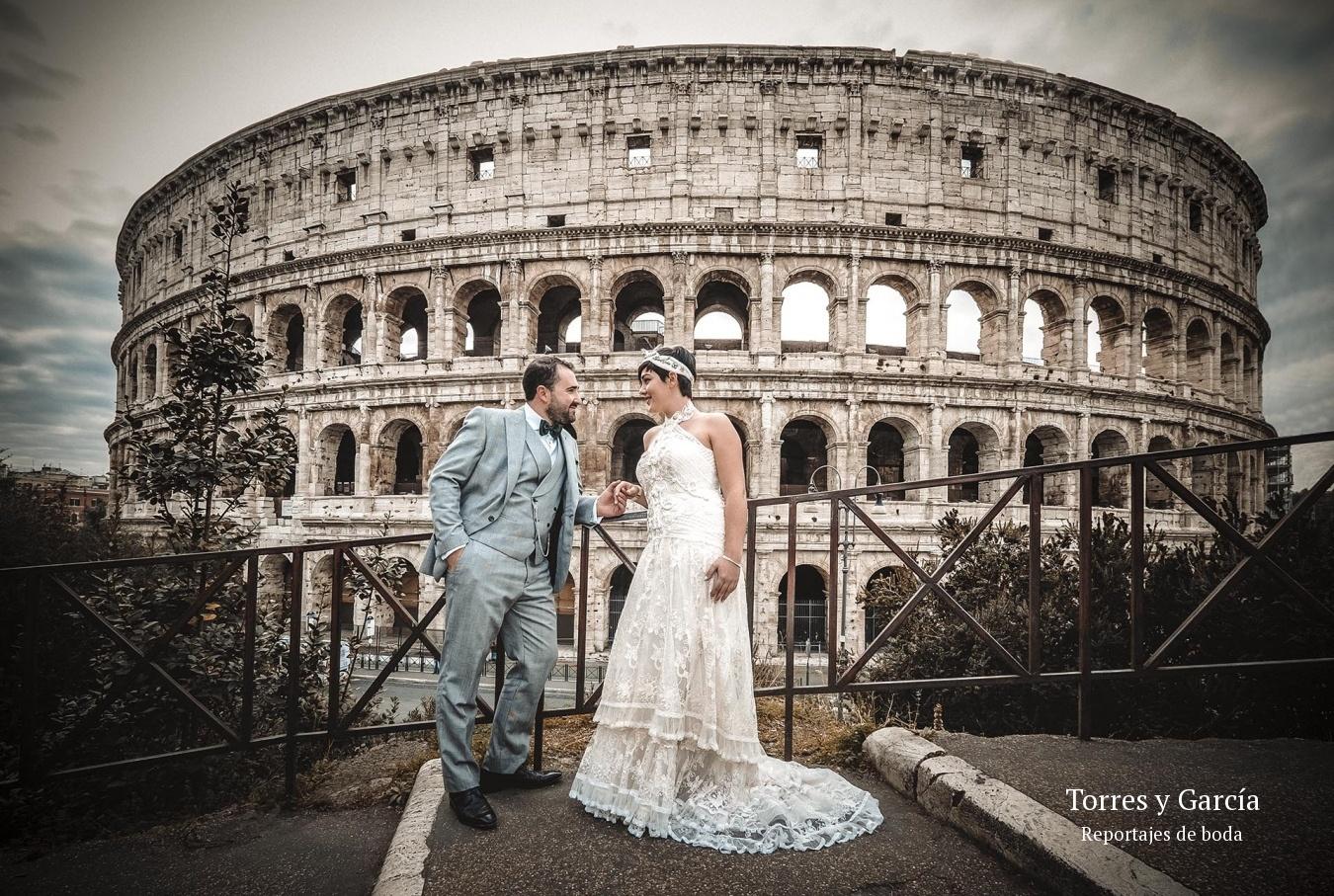 reportajes de boda en Roma - Fotografías - Libros y reportajes de boda diferentes.