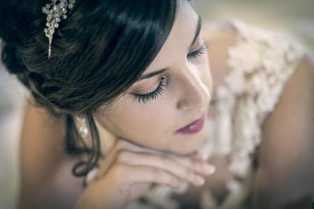 pestañas de la novia