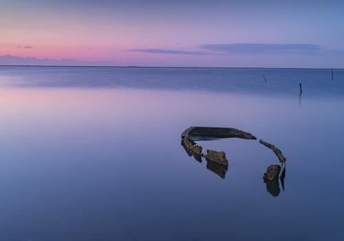 desde la orilla. imágenes marinas