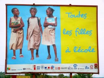Todas las niñas a la escuela. Benín 2010.