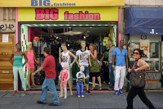 Big fashion.