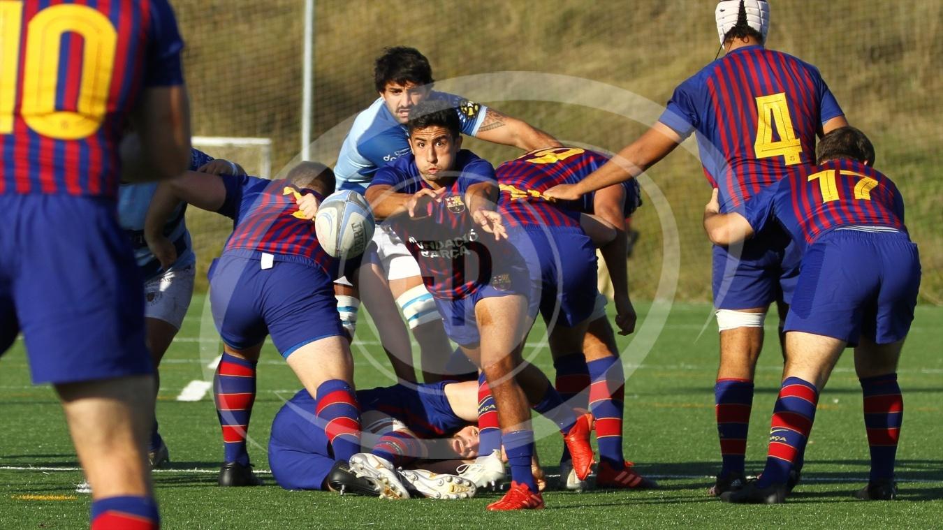 20/21 J03 FCB 33 vs 14 Cisneros - Fotografia de Rugby,
