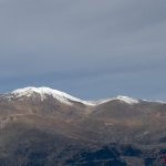 Puigmal early snow