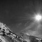 Sun, wind and snow