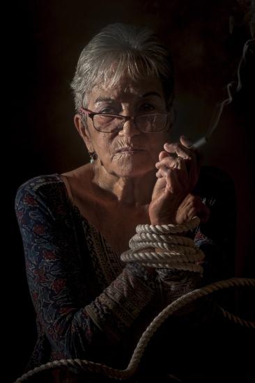 Luisa María Serrano (Lichi), painter