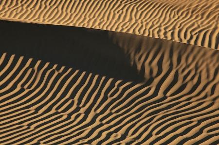 Mesquite Flat Sand Dunes, Death Valley, California, Febrero 2011.