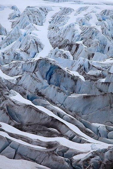 Exit Glacier, Kenai Peninsula Borough, Alaska, Junio 2010.