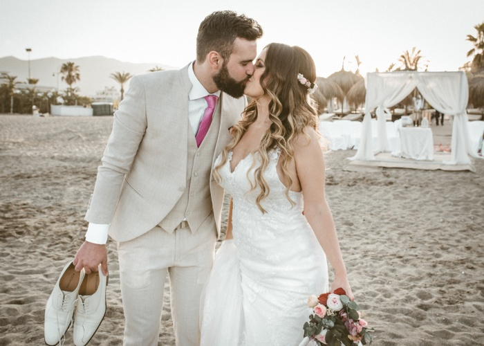 ROSA Y JAVI - LA PALAPA BEACH-MALAGA  - JUNIO 2019