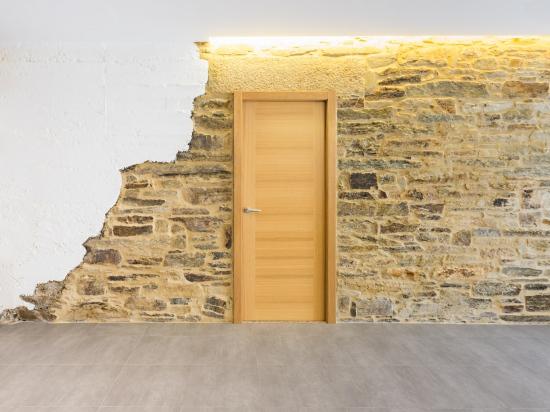 puerta, fotografía de interiores, encaixe arquitectura, galicia