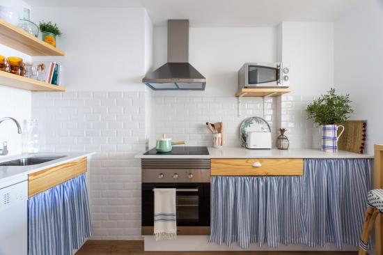 apartamento turistico, fotografía de interiores, cocina