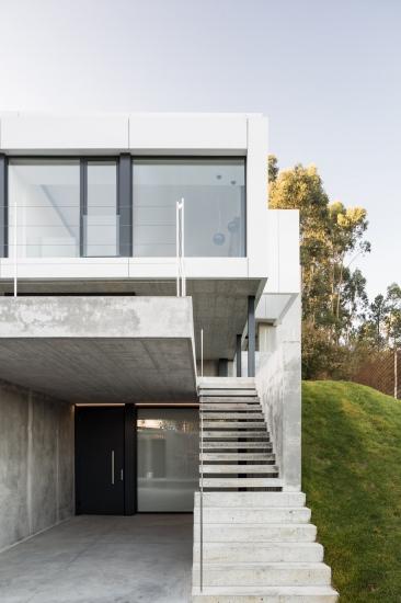 Exterior vivienda unifamiliar Desarrolla