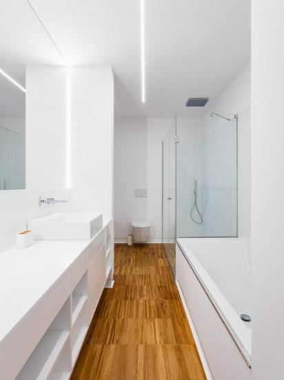 Baño vivienda unifamiliar Desarrolla