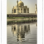 Taj Mahal sobre el Yamuna