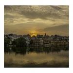 Amanecer en Udaipur