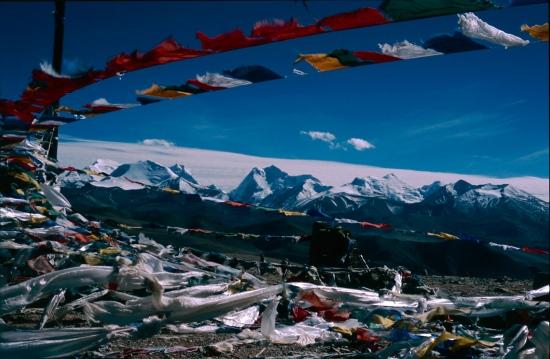El Himalaya desde el Tibet