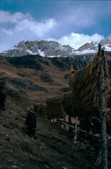 Montañas Hengduan desde el Tibet