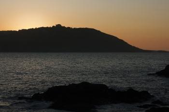 Atardecer tras el Monte de San Pedro | 2011 | A Coruña, España