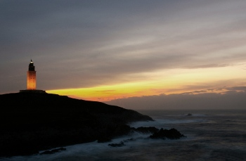 Atardecer en la Torre | 2007 | Torre de Hércules - A Coruña, España