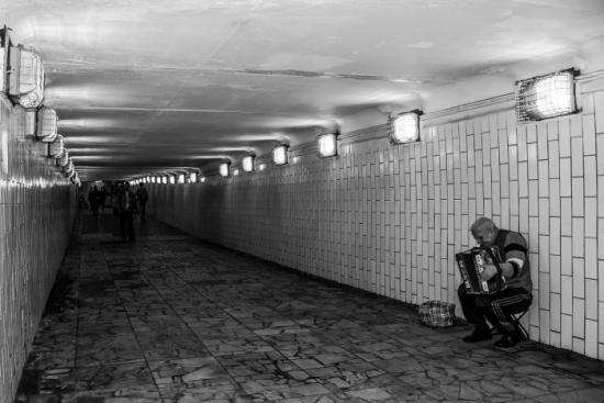 Pasillos del metro, Moscú