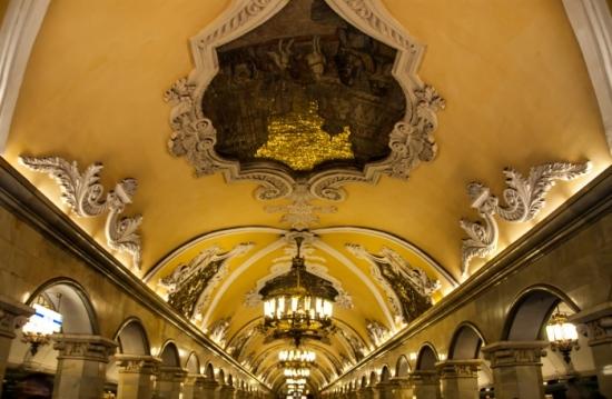 Catedrales en el Metro