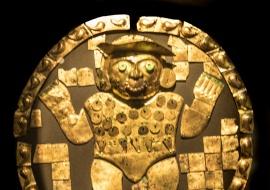 DSC_9791 Estandarte circular representando la deidad de los Ulluchus rodeada de frutos miticos