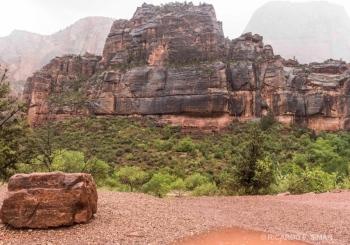 El Gran Trono Blanco, Parque Nacional Zion, Utah