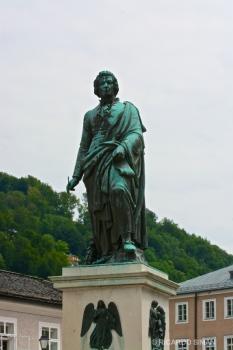 Monumento a Mozart, Salzburgo