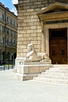 Esfinge en Opera Nacional de Hungría