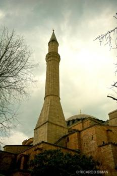Una de las Torres de Hagia Sophia