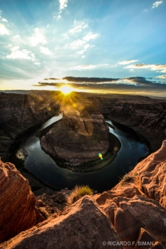 La Curva de la Herradura, Arizona