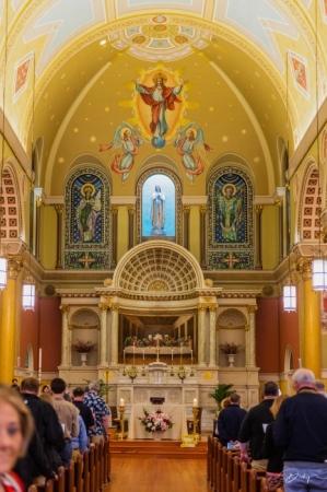 DSC_0378 Boston, Massachusetts, St. Cecilia Roman Catholic C