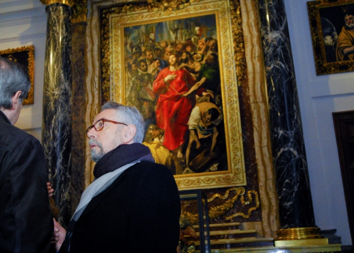 restauración El Expolio, elGreco
